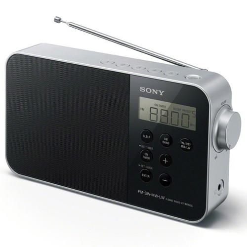 Sony Radio FM/SW/MW/LW Svart