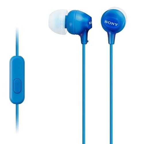 Sony Headset in-ear MDR-EX15AP Blå