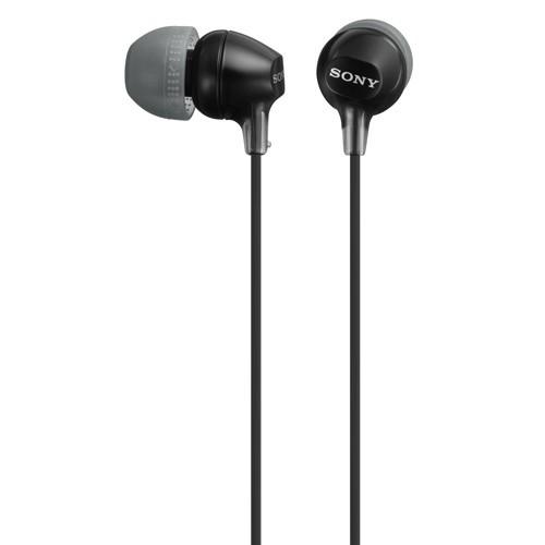 Sony Hörlurar in-ear MDR-EX15 Svart