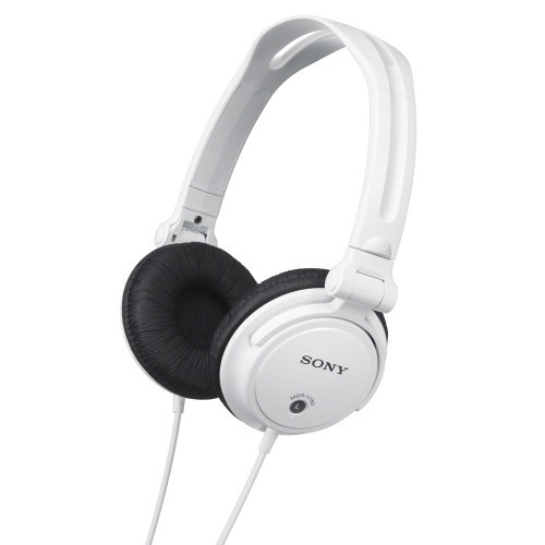 Sony Hörlurar DJ MDR-V150W Vit