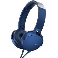 Sony Headset MDR-XB550AP Blå