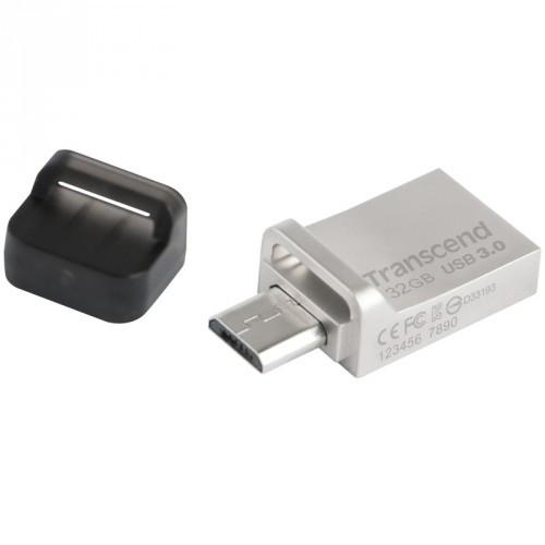 Transcend USB 3.0-minne Dual 880S  32GB