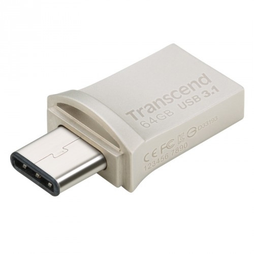 Transcend USB-minne (USB3+Type-C)  64GB