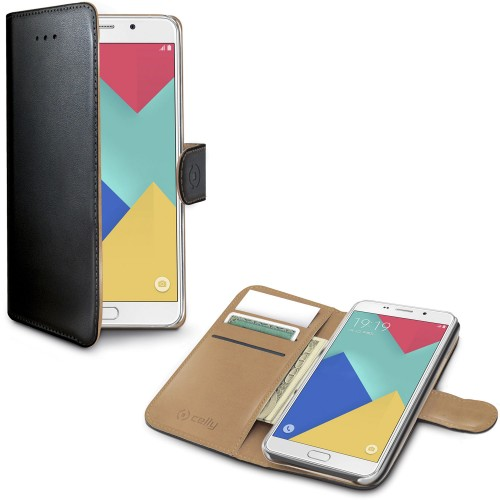 Celly Wallet Case Galaxy A9 2016 S/B