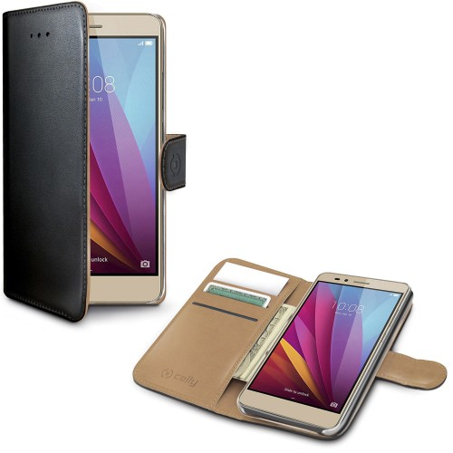 Celly Wallet Case Honor 5X Sv/be