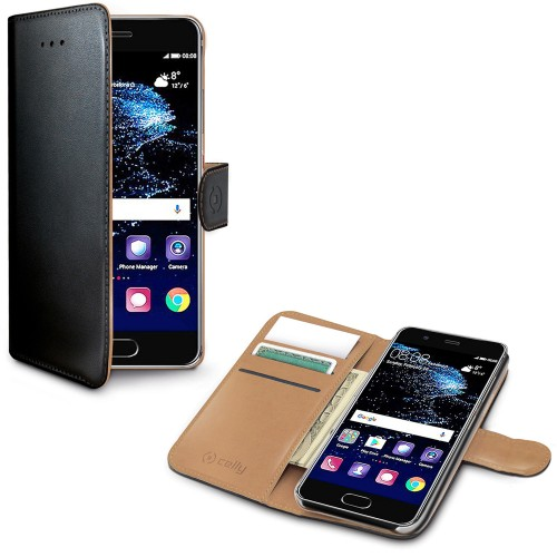 Celly Wallet Case Huawei P10 Plus Sv