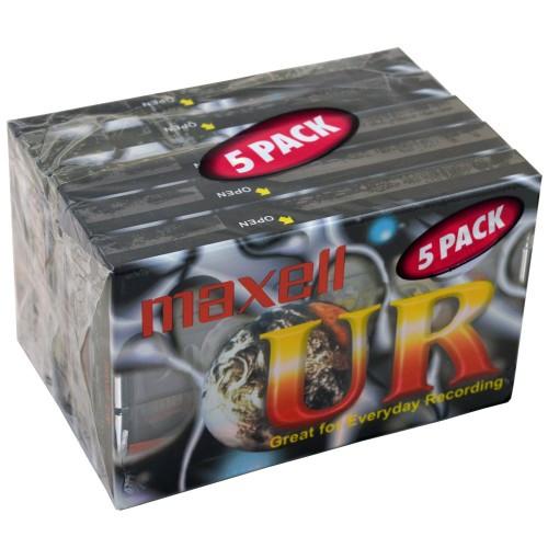 Maxell Kassettband UR 90min 5-pack