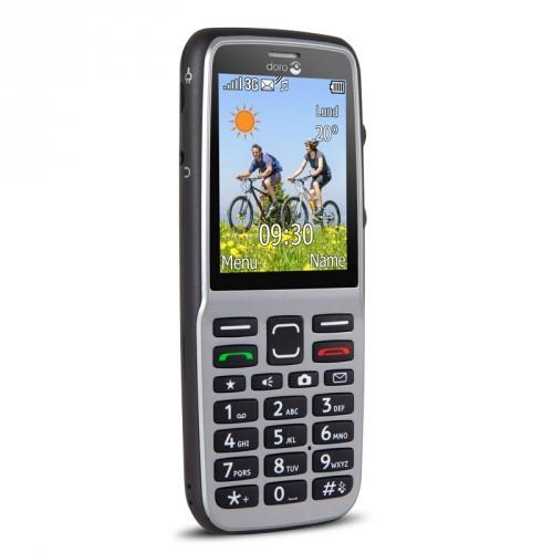 Doro PhoneEasy 530X 3G Steel/Black