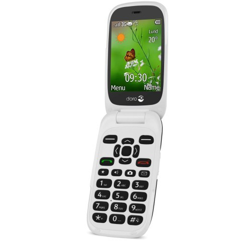 Doro 6531 3G Black/White