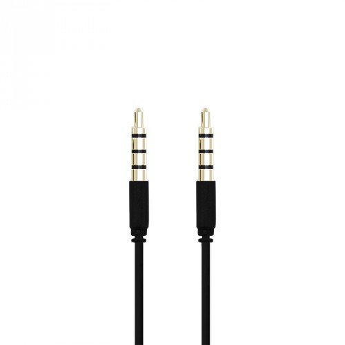 Champion 3,5mm Audiokabel  1,0m Svart
