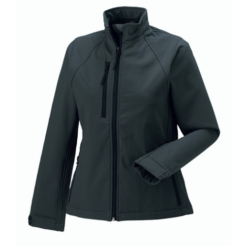 Russell Ladies Soft Shell Jacket Titanium