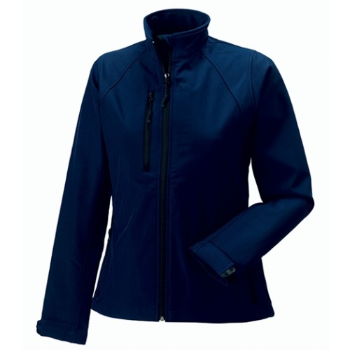 Russell Ladies Soft Shell Jacket French Navy