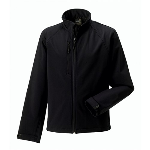 Russell Soft Shell Jacket Black