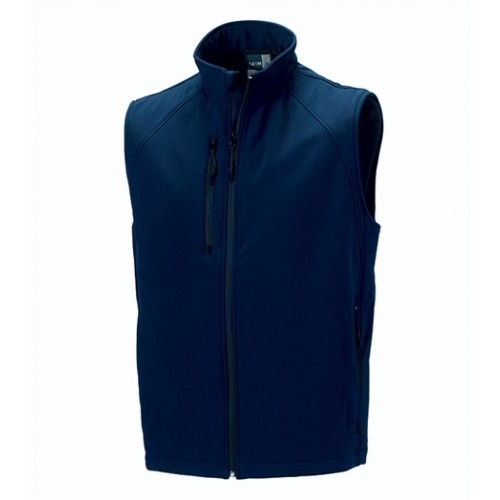 Russell Soft Shell Gilet French Navy