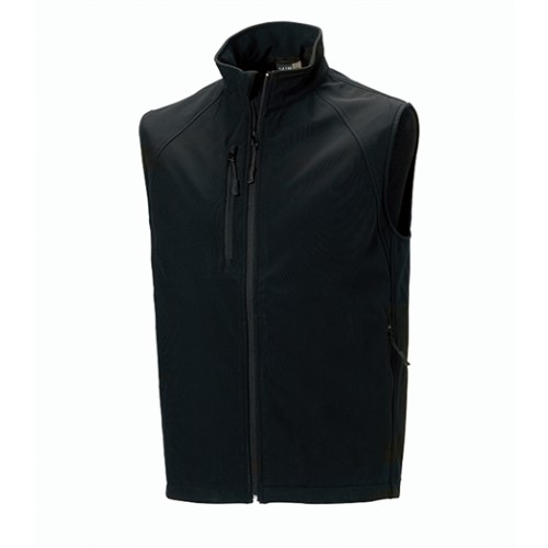 Russell Soft Shell Gilet Black