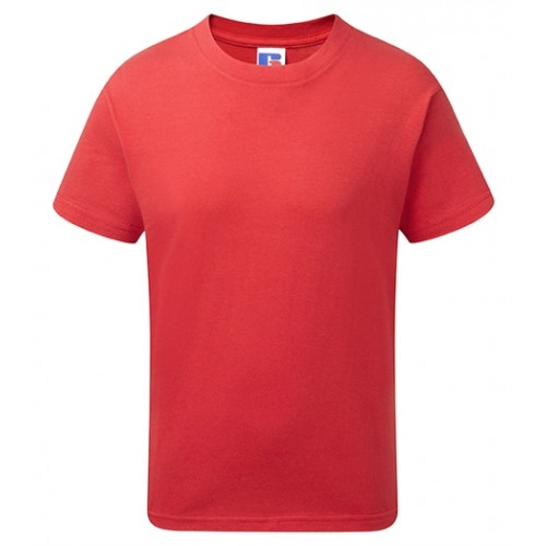 Russell Kids Slim T-shirt Classic Red