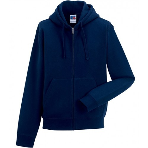 Russell Authentic Zipped Hood French Navy