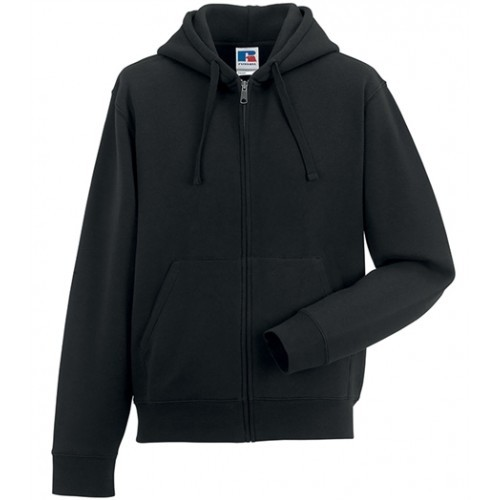Russell Authentic Zipped Hood Black