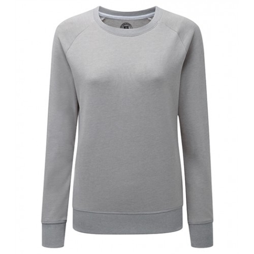 Russell Ladies HD Raglan Sweat Silver Marl