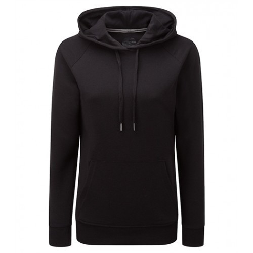Russell Ladies HD Hooded Sweat Black