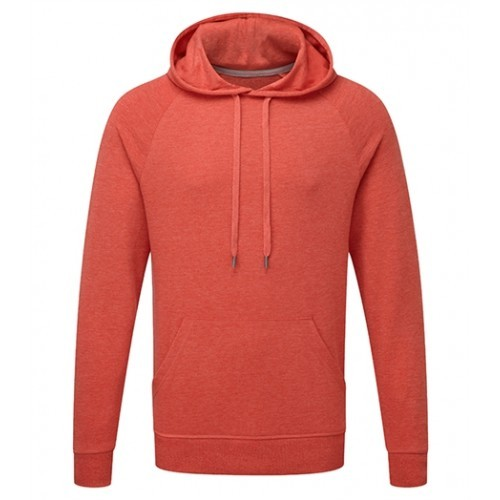 Russell Men´s HD Hooded Sweat Red Marl