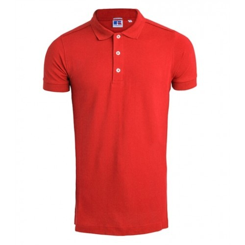 Russell Men's Stretch Polo Classic Red
