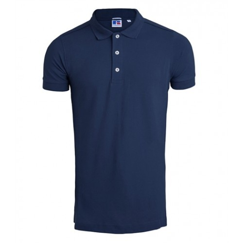 Russell Men's Stretch Polo French Navy