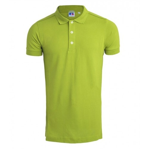 Russell Men's Stretch Polo Lime