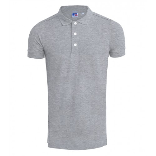 Russell Men's Stretch Polo Light Oxford