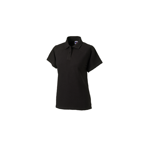 Russell Ladies Classic Cotton Polo Black