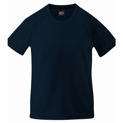 Fruit of the loom Kids Performance T Deep Navy