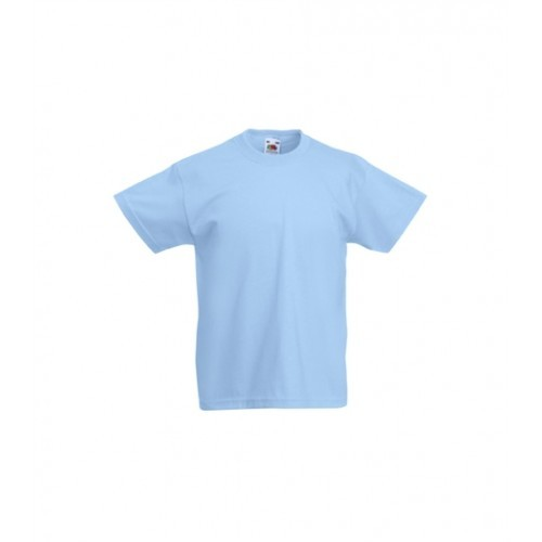 Fruit of the loom Kids Original T Skyblue
