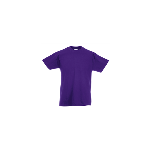 Fruit of the loom T- shirt Kids Valueweight Purple