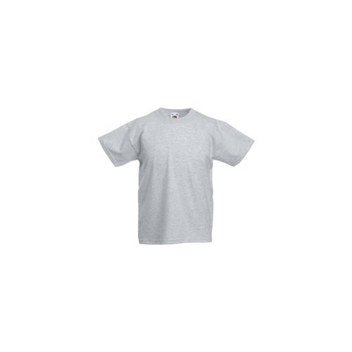 Fruit of the loom T- shirt Kids Valueweight Heather Grey