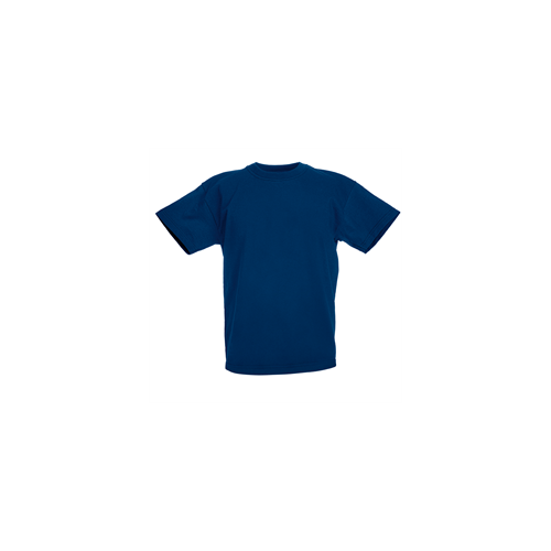Fruit of the loom T- shirt Kids Valueweight Navy