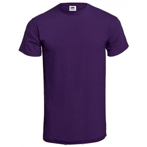 Fruit of the loom T-shirt Valueweight Crew Neck Purple