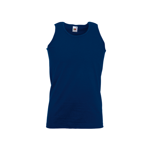 Fruit of the loom Athletic Vest Deep Navy