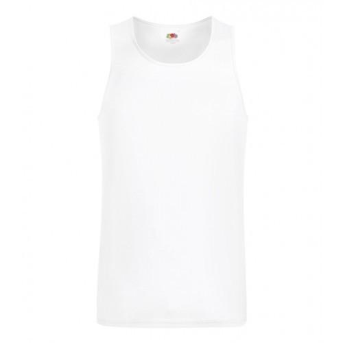 Fruit of the Loom Performance Vest White