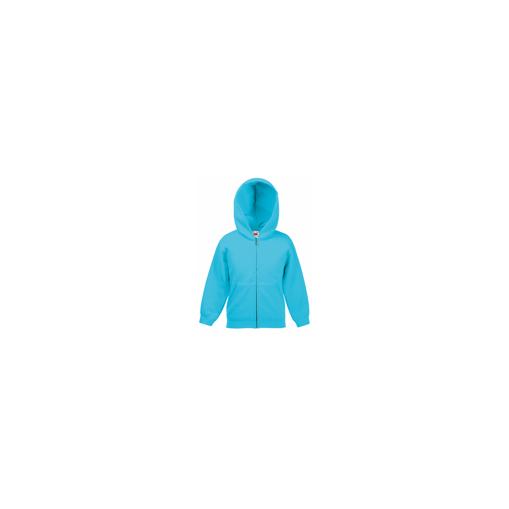 c1e4a9967 Köp Fruit of the loom Zip Kids Hooded Sweat Jacket Azure på ...