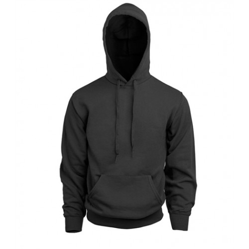 Fruit of the Loom Classic Hooded Sweat Black