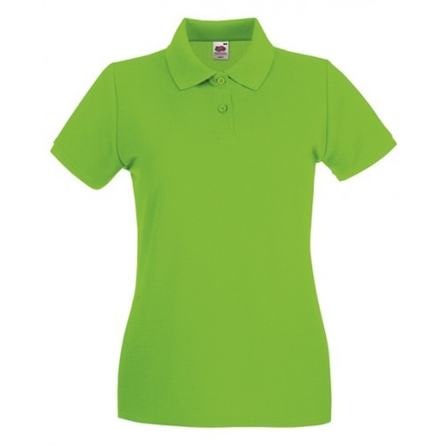 Fruit of the Loom Lady Fit Premium Polo Lime