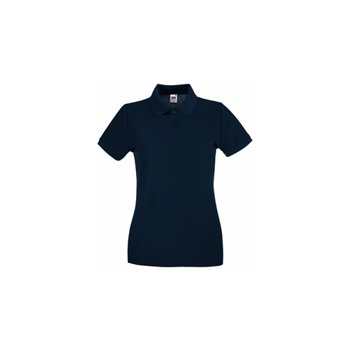 Fruit of the Loom Lady Fit Premium Polo Deep Navy