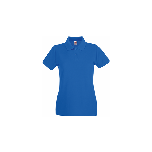 Fruit of the Loom Lady Fit Premium Polo Royal Blue