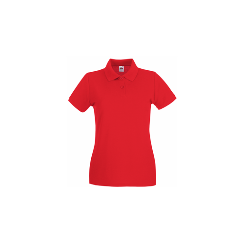 Fruit of the Loom Lady Fit Premium Polo Red