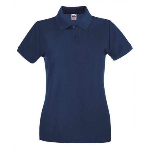 Fruit of the Loom Lady Fit Premium Polo Navy