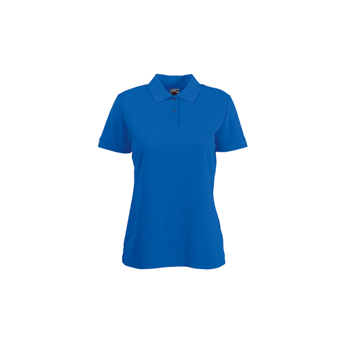 Fruit of the loom Lady Fit 65/35 Polo Royal Blue