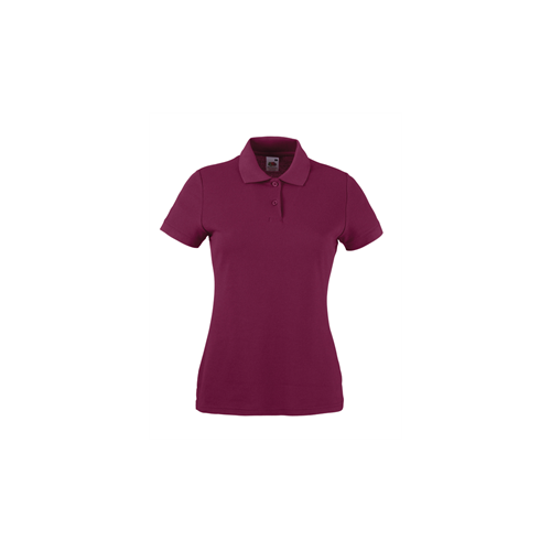 Fruit of the loom Lady Fit 65/35 Polo Burgundy