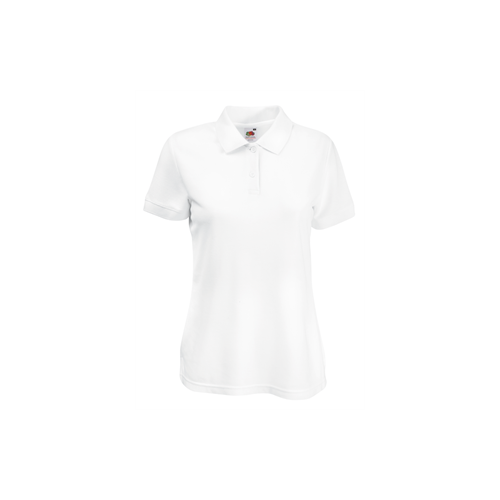 Fruit of the loom Lady Fit 65/35 Polo White