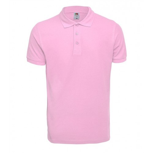 Fruit of the Loom Premium Polo Light Pink