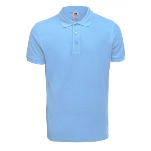 Fruit of the Loom Premium Polo Sky Blue